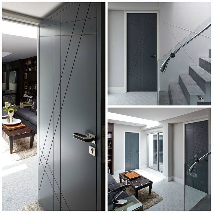 the root design is a playful take on our doors with strong diagonal and vertical lines