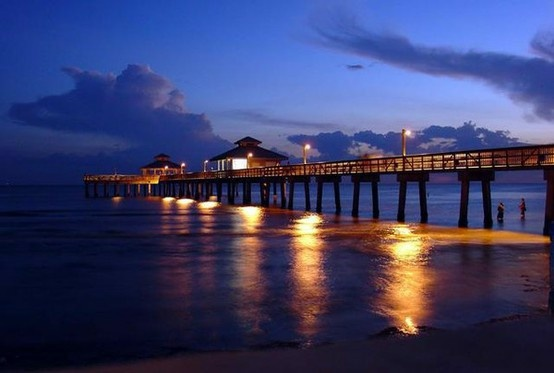 Pier at Fort Myers Beach, FL.