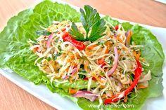 Вкусный Салат из Белокочанной Капусты