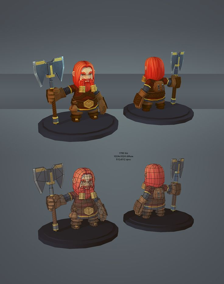 dwarf by kinyz.deviantart.com on @deviantART