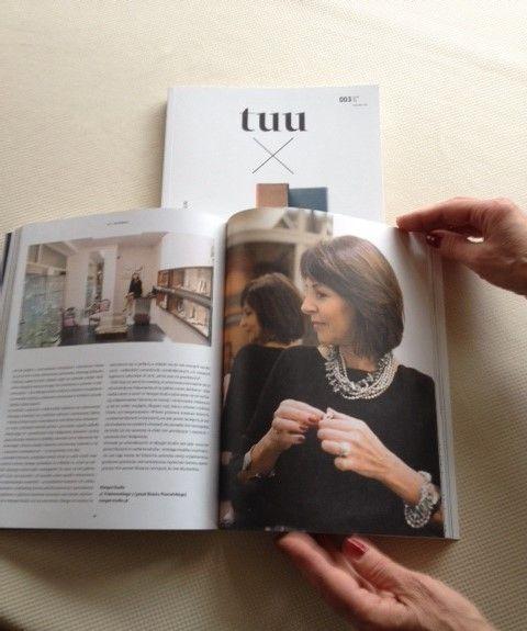 Magazyn TUU pisze o naszej biżuterii artystycznej. Jeżeli jesteście ciekawi co, zachęcamy do przeczytania nr 003 str. 79-81