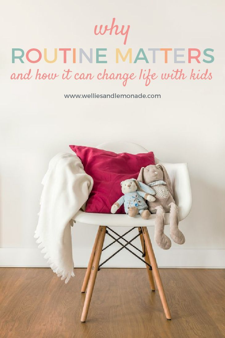 By establishing a healthy routine children can sleep better, be well fed, will be more willing to learn more and will be less prone to meltdowns. Click thorough to read now or pin for later.