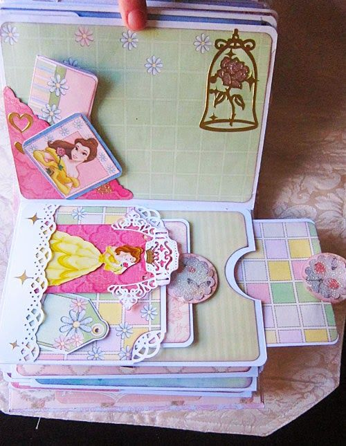 Disney Princess Scrapbook Mini-Album ~ Jubilee Crafts