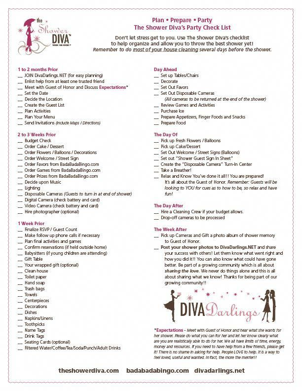 d6d17383008 Party Planning Checklist for Baby Showers