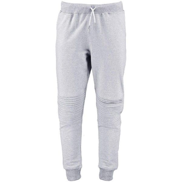 Skinny Fit Biker Joggers (€13) ❤ liked on Polyvore featuring activewear, activewear pants, pants, bottoms, sweats, sweatpants, skinny leg sweatpants, skinny sweatpants, jogger sweat pants and biker sweatpants