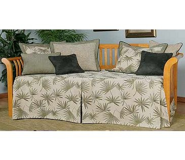 sis custom fabric daybed cover in insight