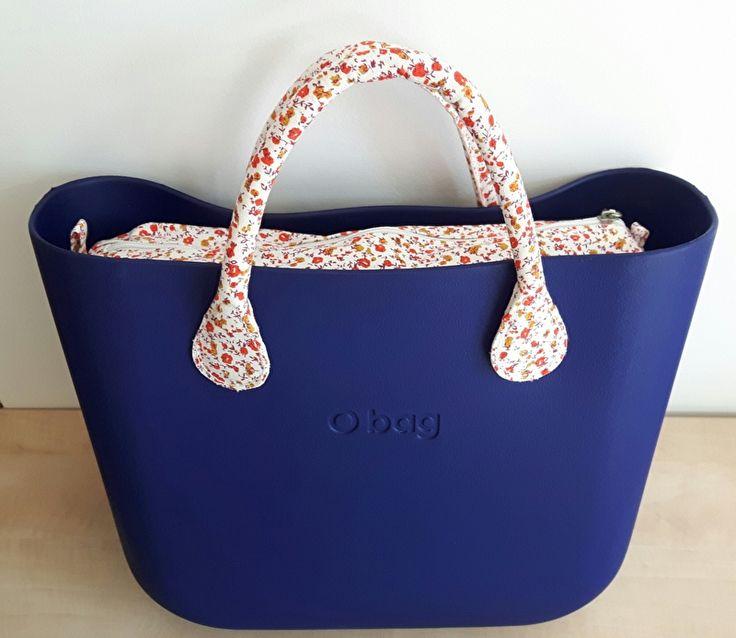 O`Bag body Iris (donker paarsblauw)