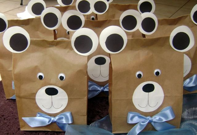 Teddy Bear Party Favour Bags More