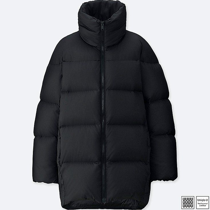 WOMEN UNIQLO U OVERSIZED DOWN JACKET | Uniqlo jackets, Down