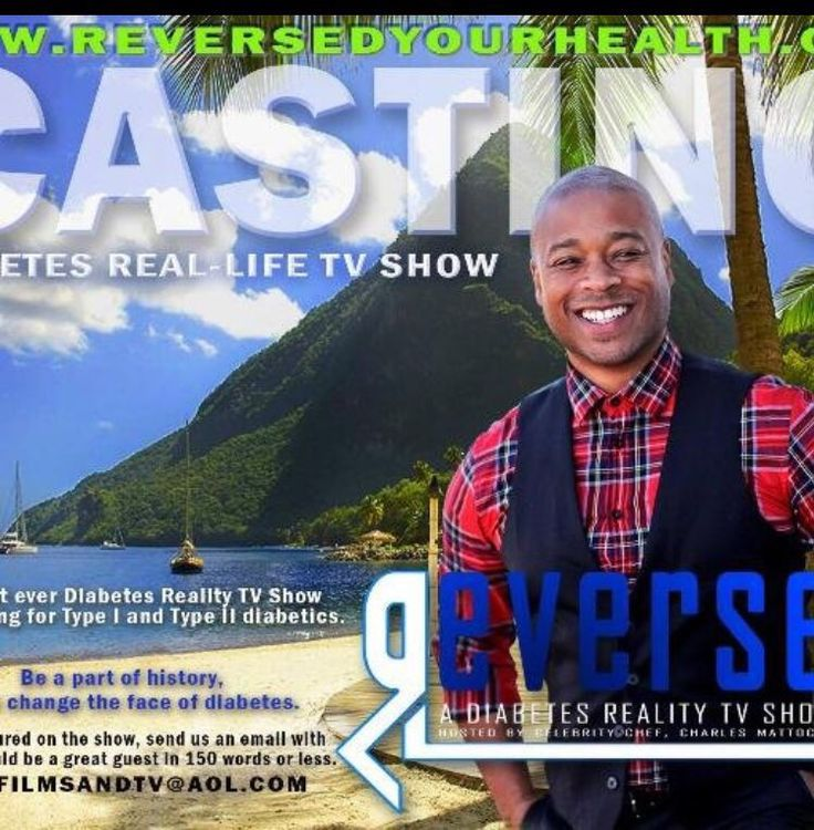 @CMattocks1  RT Coming Soon!: REVERSED @reversedhealth - A Reality TV Show About #Diabetes– With Charles Mattocks