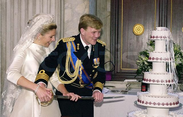 Princess Maxima Wedding Cake