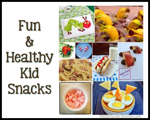 Fun and Healthy Snack Ideas for Kids