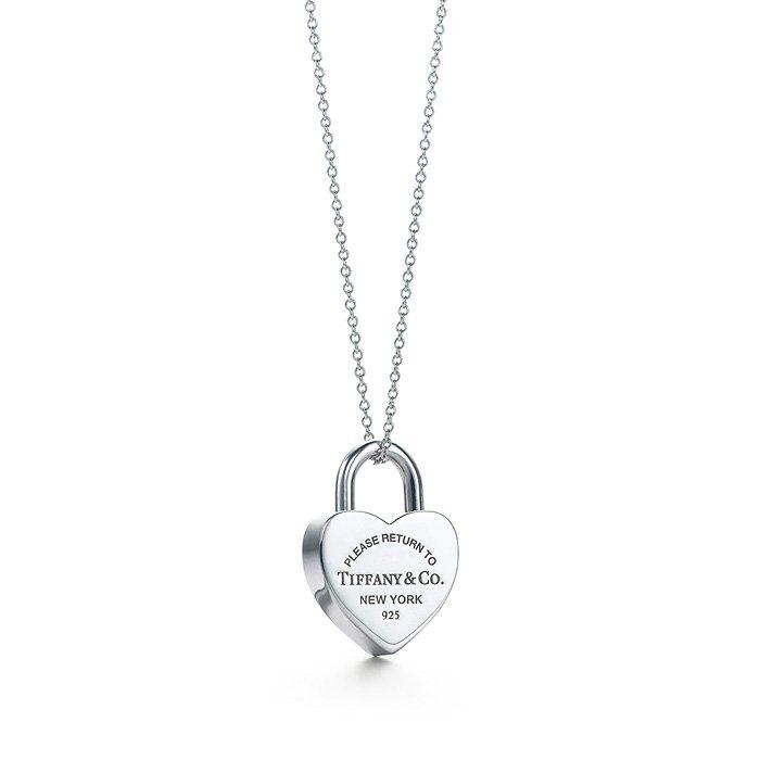 Return To Tiffany Amp Co Heart Lock Necklace Diamonds Are