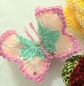Aprende como tejer a hermosas mariposas y flores rosas, 3D, en una tira con hojas. Vea comohacer unas bellas rosas de 19 pétalos tejidas de una sola tira, com las hojas y finalmente como tejer unas bonitas mariposas en 3D, … Ler mais... →