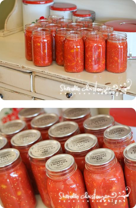 canning recipes & instructions