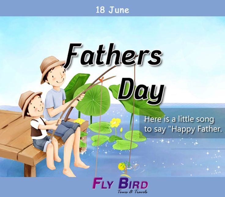 Plan a vacation with your father, or a short trip. It will be rewarding. #HappyFatherDay #vacation