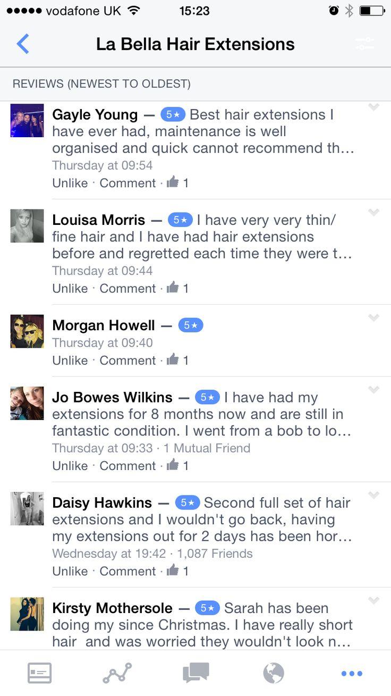 10 best la bella hair extensions customer feedback images on la bella hair extensions direct customer feedback labellahair bella hair extensionswebsite pmusecretfo Gallery