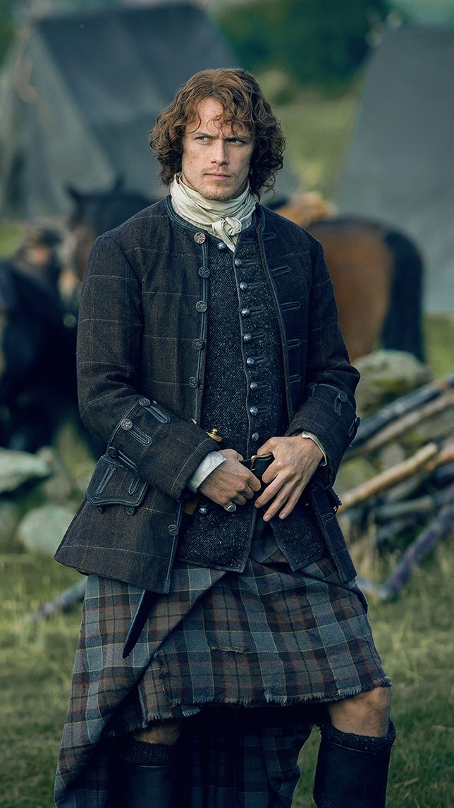 Sam Heughan as Jamie Fraser | Outlander                                                                                                                                                      More