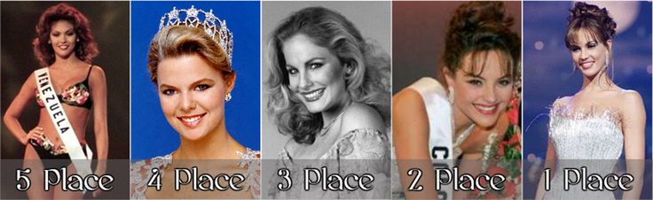 My Lonely Projection: Most Beautiful Miss Universe 1st Runner up, 5th pl...