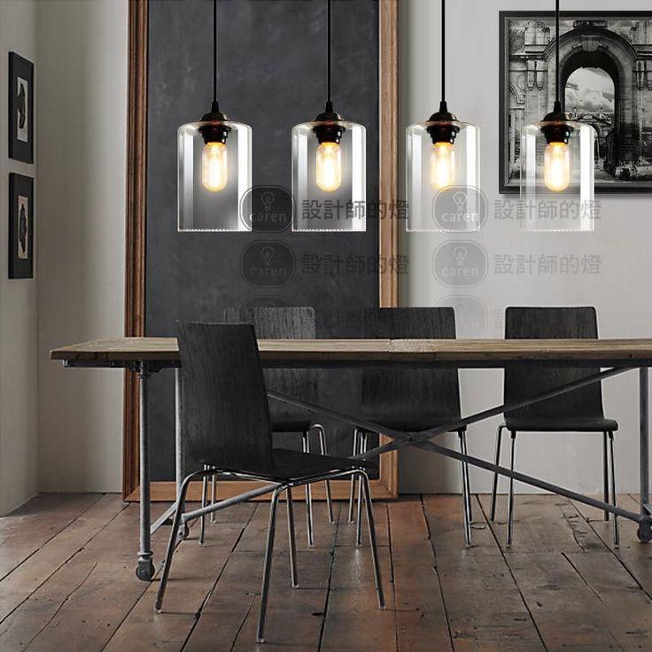88.51$  Buy now - Vintage Pendant Lights Dia 13 cm Weston Round Glass Drop Lamp Kitchen Restaurant Fixture Industrial Hanging Lighting Fixture  #magazine