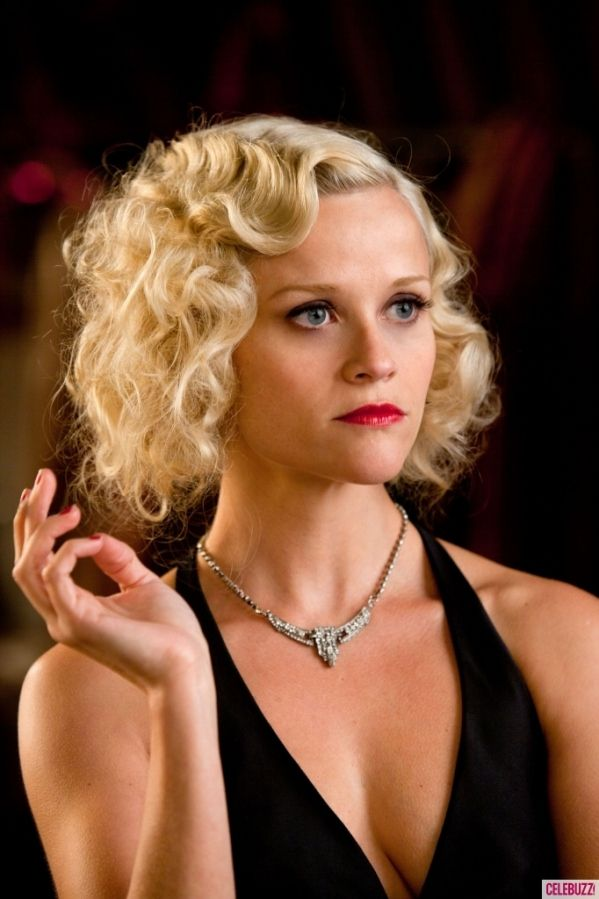 1920s hair - Reese Witherspoon(perfect for a 1920s themed murder mystery night!)