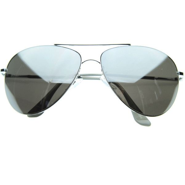 Full mirrored lens class curved metal aviator sunglasses 1535 ($14) ❤ liked on Polyvore featuring accessories, eyewear, sunglasses, aviator sunglasses, mirrored lens sunglasses, mirrored aviators, metal frame glasses and metal frame sunglasses