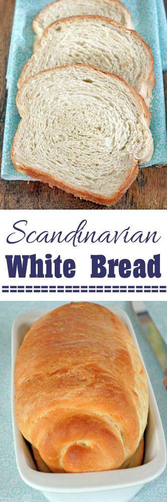 Scandinavian White Bread #bread #recipe #breadbaking #baking #recipe #comfortfood