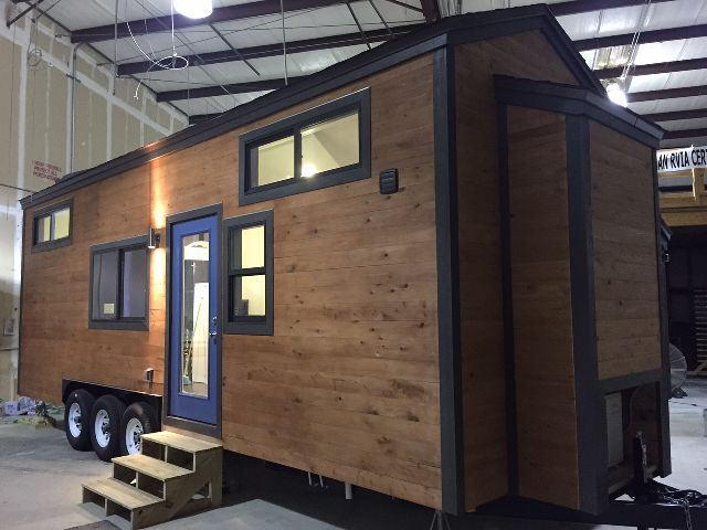 cornerstone tiny homes florida 28 foot tiny house on wheels thow the - Tiny House With Loft 2