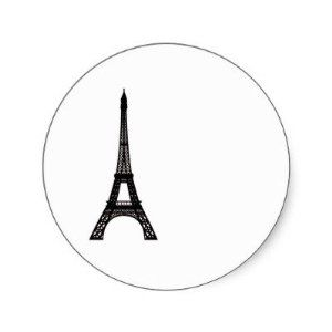 Paris Eiffel Tower Sticker by Zazzle. $5.25. Paris Eiffel Tower Paris Eiffel Tower design you can customize with your own monogram, text or other ideas. Background is transparent so you can change the colors through the customize tool. Created by foreverlogos Keywords: paris, eiffel, tower, design, wedding, french, france, parisian, party, theme, decor