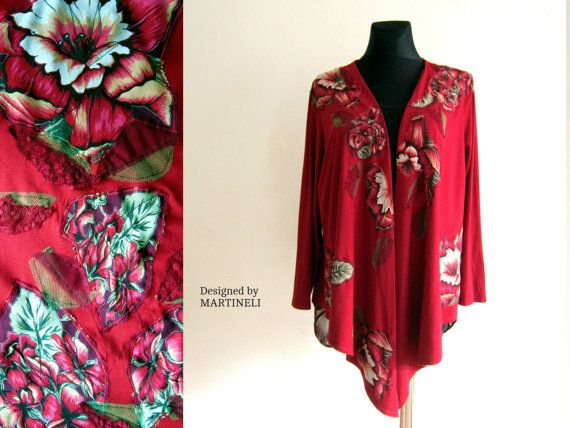 XL Maxi Size Oversize Top Loose Fit Top Recycled by MARTINELI