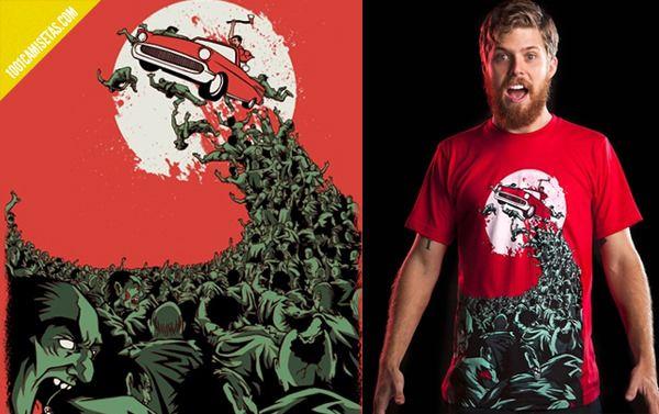 Resultado de imagen para diseños para camisetas zombies