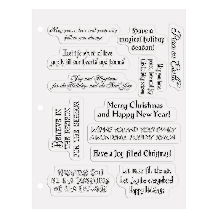 28 best Christmas Card Sayings images on Pinterest | Christmas ...