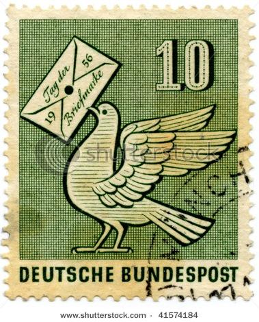 Dove postage stamp
