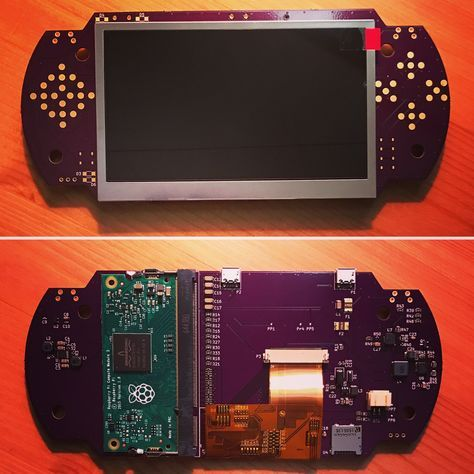 Custom Made Raspberry Pi PSP