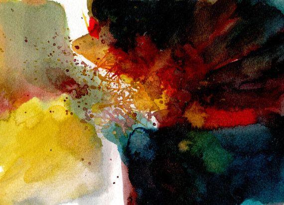 Paintbrushes dance by silaloba on Etsy