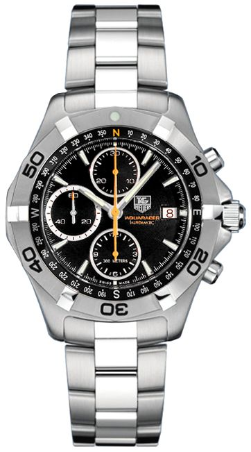 CAF2113.BA0809 TAG Heuer Aquaracer Automatic Chronograph Watch for Sale - Lowest Prices - Guaranteed Authentic - Free Worldwide Shipping - Since 1979 - Full Warranty on Watches