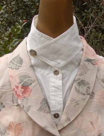 steampunk fashion - Easy no-sew collar mods--amazing variations