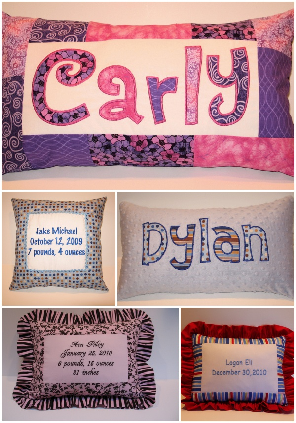 Baby Name Gift Pillows - mazelmoments.com & 672 best Pillow Pile images on Pinterest | Cushions Art print and ... pillowsntoast.com