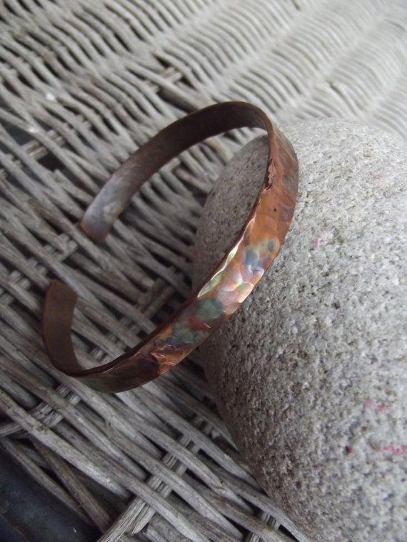 Bracciale braccialetto di rame uomini di silveringjewelry su Etsy