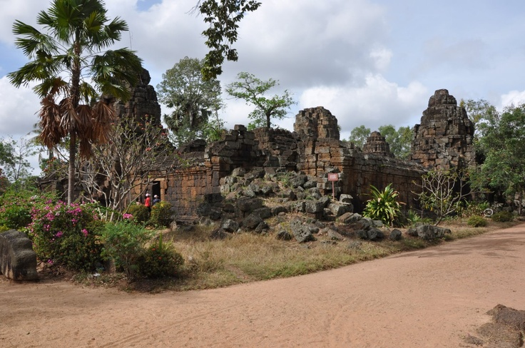 Prasat Taprom Tonle Bati (near Phnonm Penh in Cambodia).  This temple is older than the famous Angkor Wat (in Siem Reap).