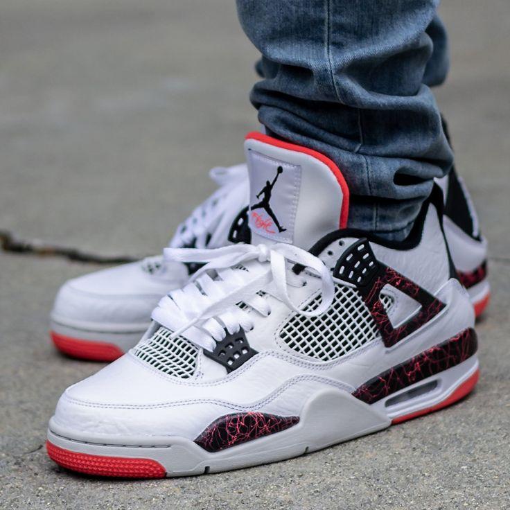 Air Jordan 4 Flight Nostalgia On Feet Sneaker Review   Jordan ...