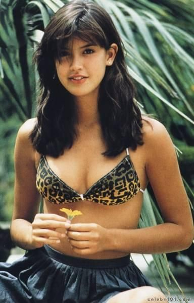 Phoebe Cates, the star of possibly one of the most iconic bikini scenes in movie history - Fast Times at Ridgemont High (1982)