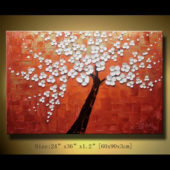Original Abstract Painting Modern Textured Painting by xiangwuchen, $199.00