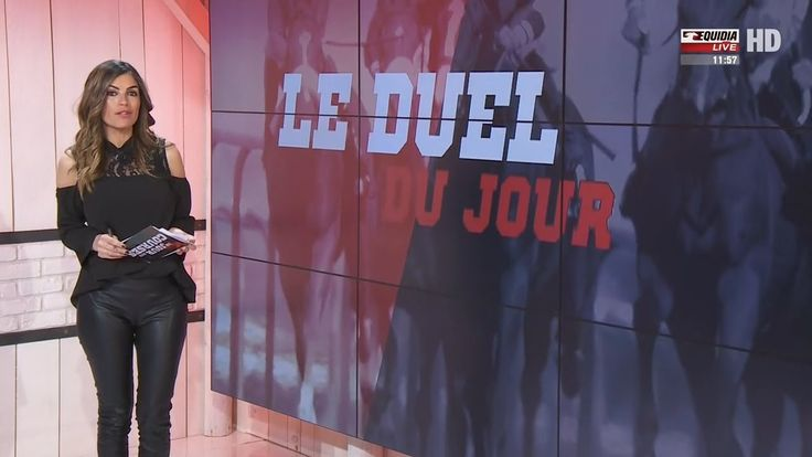 Amelie Bitoun French Presenter Leather Pants 1.3.2017