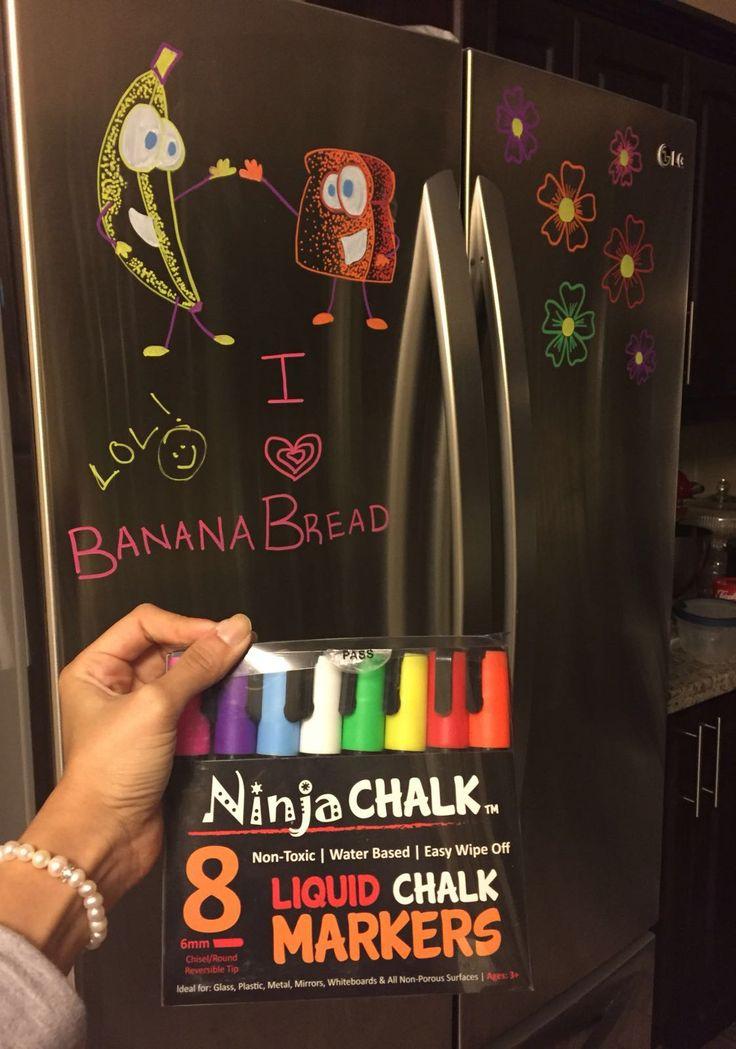 I <3 Banana Bread with Ninja Chalk Markers™