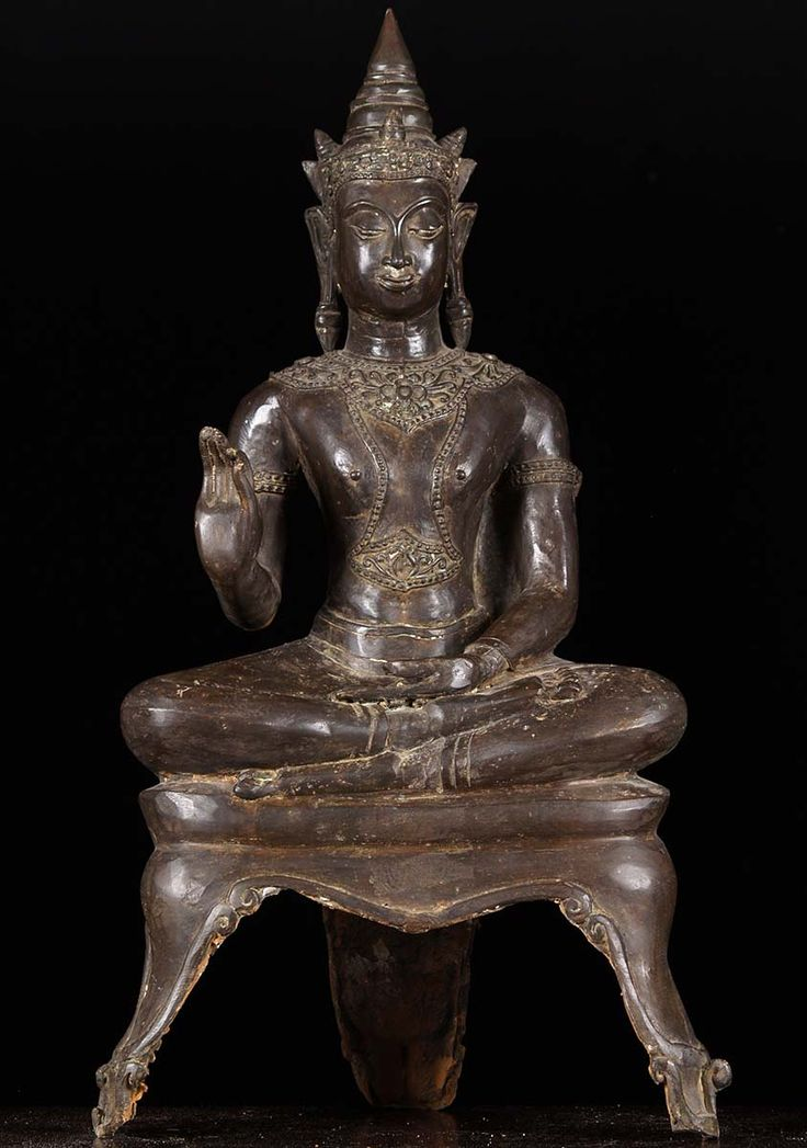 """Royal Ayutthaya Buddha Statue 28"""""""