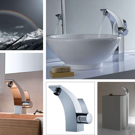 Beautiful And Unusual Bathroom Faucets By Fluid Faucets 7 Good Ideas