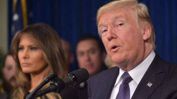 US-Präsident Donald Trump (hier mit seiner Frau Melania)