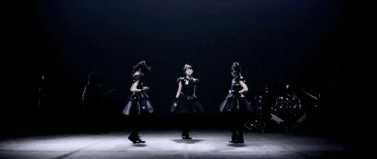 A gif I created from #BABYMETAL 's latest music video, KARATE. See more gifs like this at hxchector.com, or click the image to go directly there.
