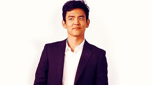 John Cho, you're such a cutie. | Community Post: Can You Make It Through These GIFs Of Smiling Actors Without Squealing?